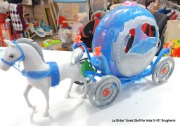 BARBIE CARROZZA CENERENTOLA CON CAVALLO