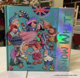 INGLESE FACILE LIBRO + CD SNOW WHITE