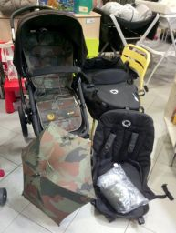 DUO SUPER ACCESSORIATO BUGABOO CAMALEON 3