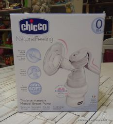 TIRALATTE MANUALE NATURAL FEELING CHICCO