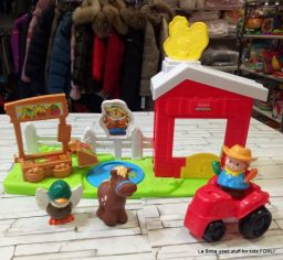 FATTORIA LITTLE PEOPLE FISHER PRICE