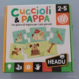 CUCCIOLI E PAPPA HEADU