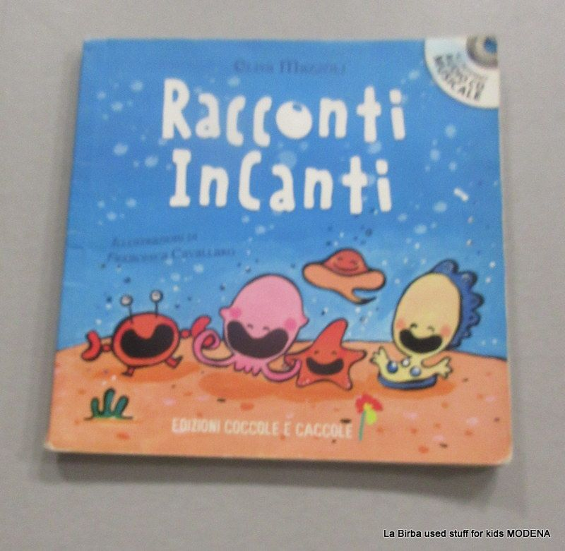 LIBRO   CD RACCONTI INCANTATI