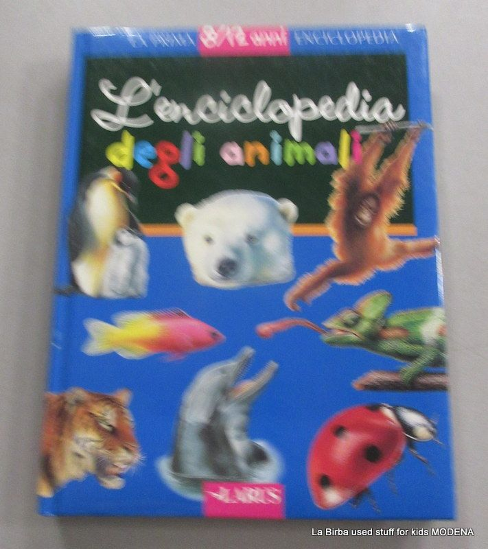 LIBRO ENCICLOPEDIA DEGLI ANIMALI