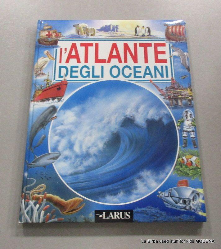 LIBRO ATLANTE DEGLI OCEANI