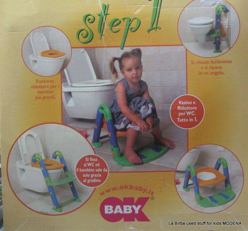STEP 1 OK BABY RIDUTTORE SCALETTA WATER