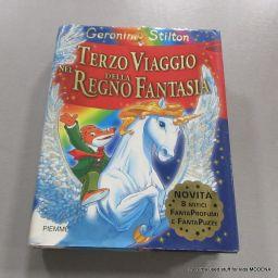 LIBRO GERONIMO STILTON TERZO VIAGGIO NEL REGNO DELLA FANTASIA