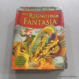 LIBRO GERONIMO STILTON NEL REGNO DELLA FANTASIA