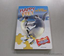LIBRO CART HAPPY FEET CON 8 PUZZLE