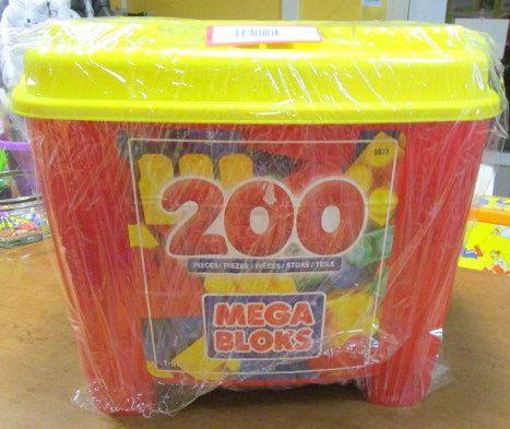 COSTRUZIONI MEGA BLOCKS 200 PZ