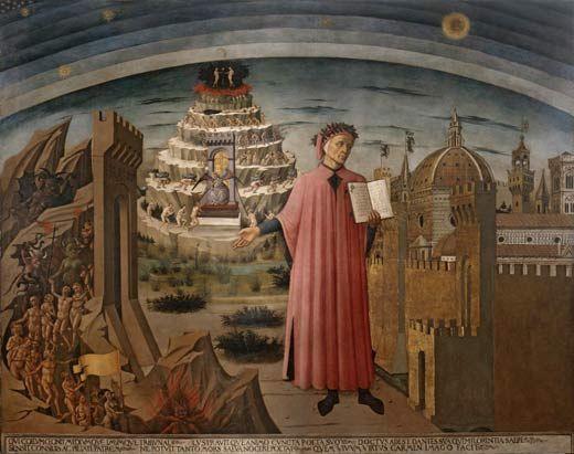 Nel 1265 nasce (forse) Dante Alighieri