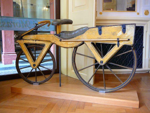 La prima bicicletta