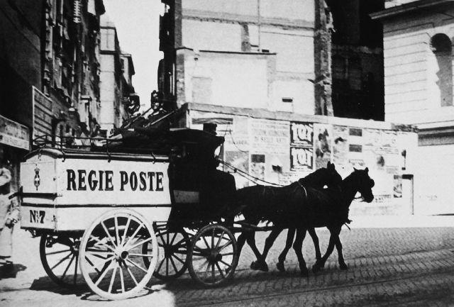 Nasce il servizio postale italiano