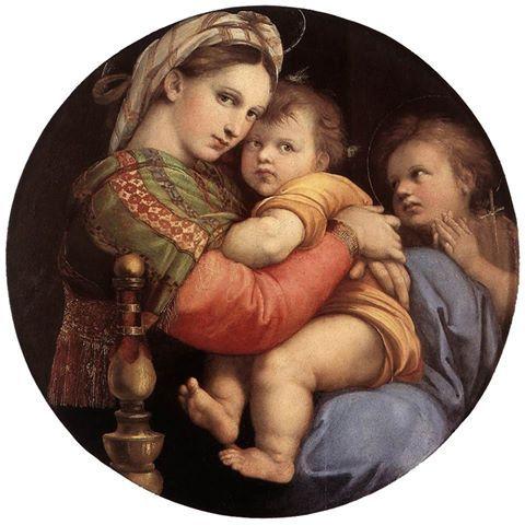 Il 6 aprile 1483 nasce Raffaello Sanzio