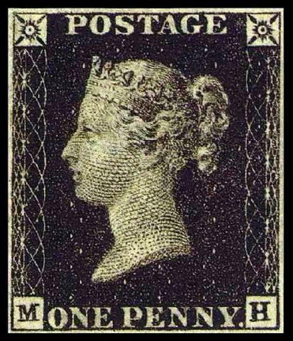 Penny Black: il primo francobollo