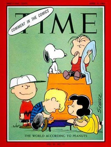 I Peanuts sul Time