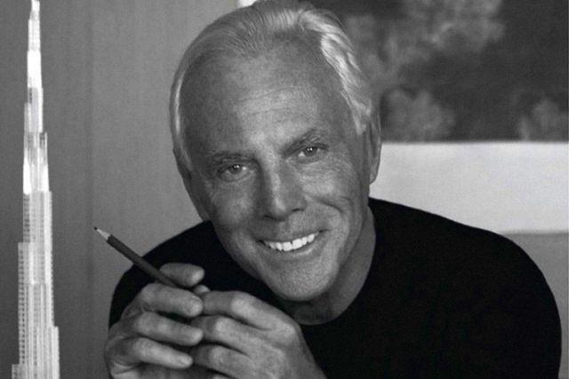 L'11 luglio 1934 nasce Giorgio Armani