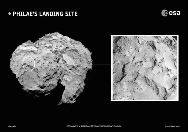 Nel 2014 Rosetta conquistava la cometa