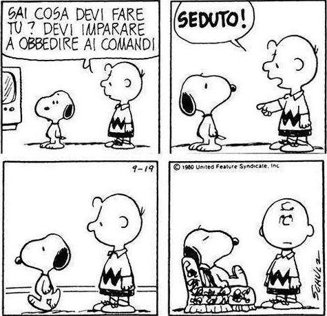 L'ultima striscia di Snoopy