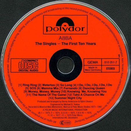 Il primo CD musicale
