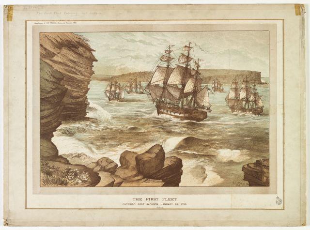La colonizzazione dell'Australia