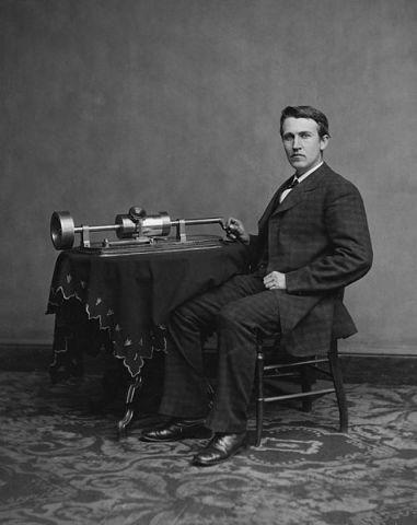 Edison brevetta il fonografo