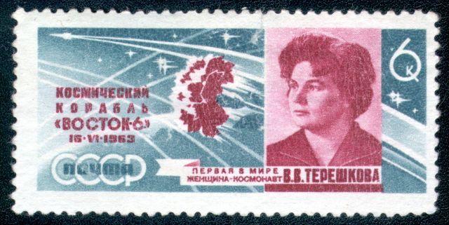 La prima donna cosmonauta