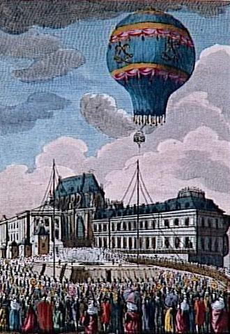 La mongolfiera vola a Versailles