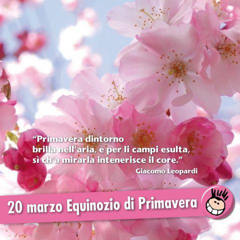 Il primo giorno di Primavera