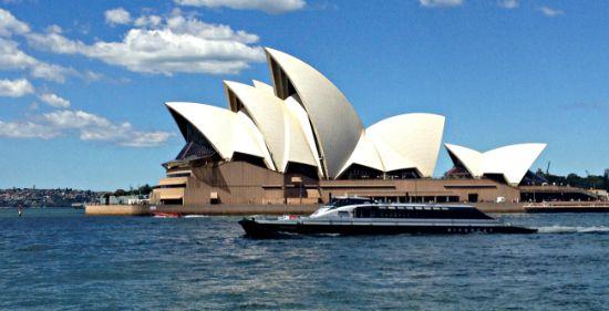 Inaugurato il Sydney Opera House