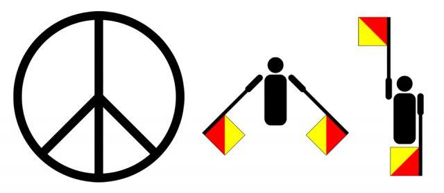 Nasce il simbolo della pace