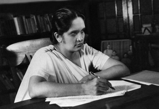 La prima donna Capo di Stato