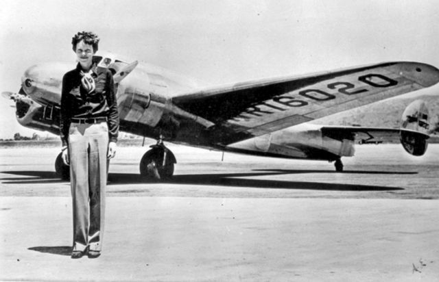 La traversata di Amelia Earhart