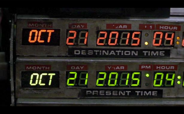 Ritorno al futuro è già passato!