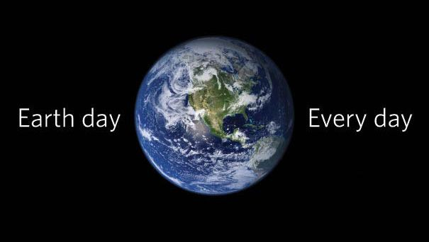 Oggi è l'Earth Day