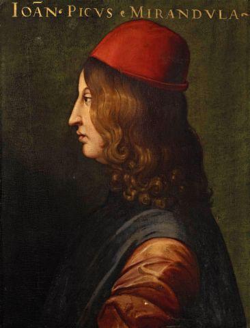 Il 24 febbraio 1463 nasce Giovanni Pico della Mirandola