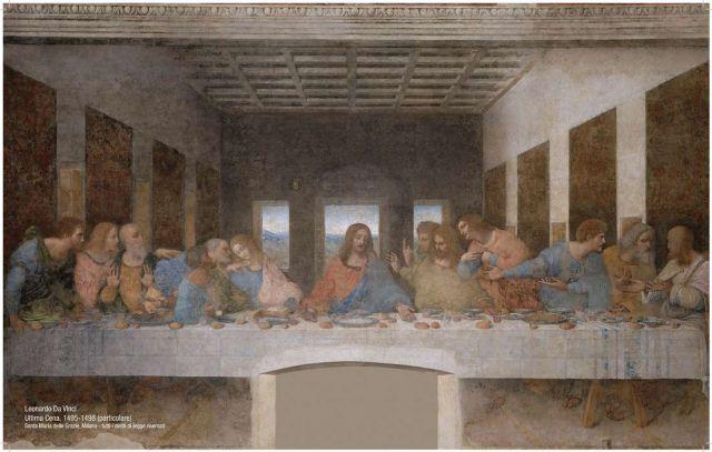 Il restauro de L'ultima cena