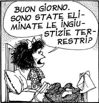 Nasce Mafalda