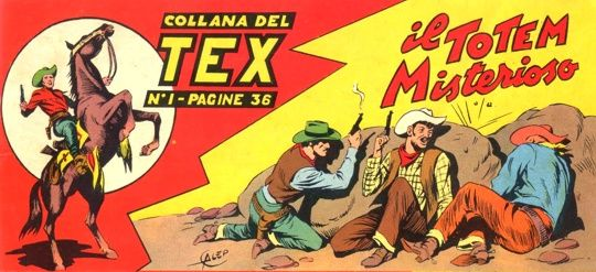 Il debutto di Tex Willer