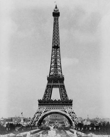 L'inaugurazione della Torre Eiffel