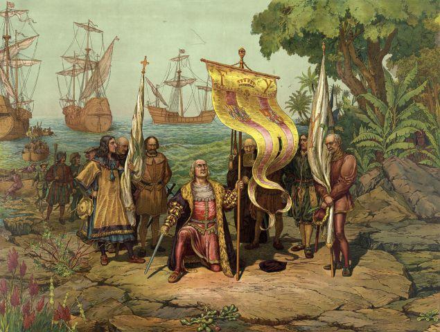 Il primo viaggio verso le Americhe