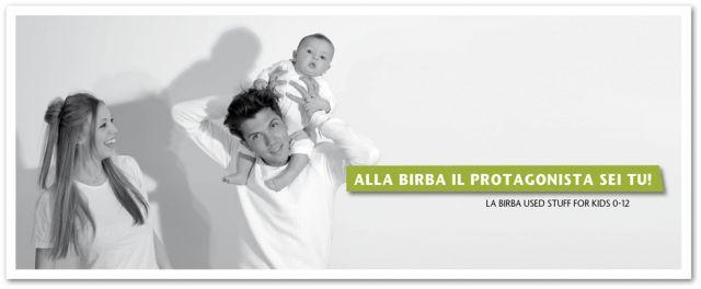 Benvenuti nel nuovo sito La Birba used stuff for kids 0-12