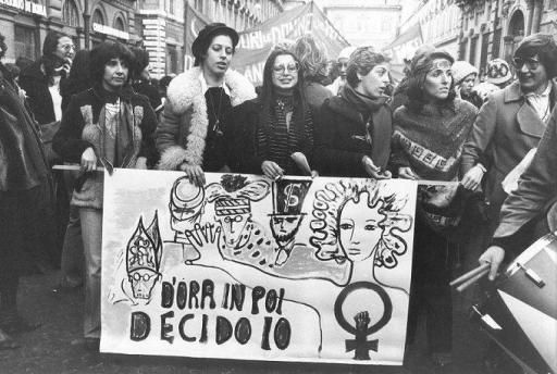 La prima manifestazione Femminista