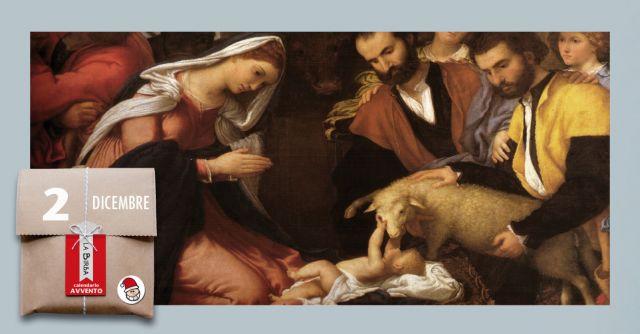 Adorazione dei pastori di Lorenzo Lotto