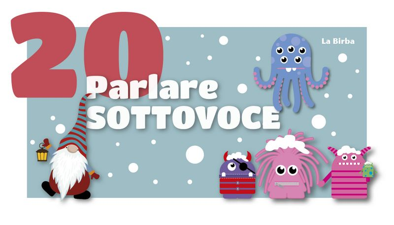 Parlare SOTTOVOCE
